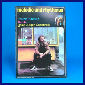 GDR-Melody-and-Rhythm-10-1981-Puhdys-Stray-Cats-Harry-Belafonte-Magdeburg