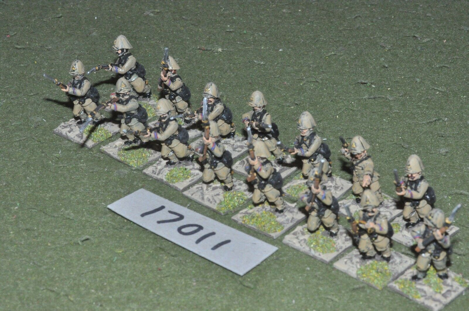 25mm colonial   french - marines 15 figs - inf (17011)