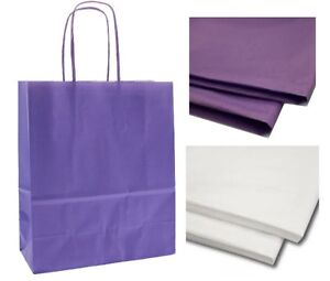 Purple-Lilac-Paper-Party-Loot-Gift-Bag-with-Tissue-Ideal-for-Presents