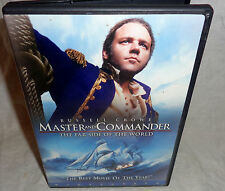 MASTER AND COMMANDER / THE FAR SIDE OF THE WORLD--RUSSELL CROWE--DVD--L@@K