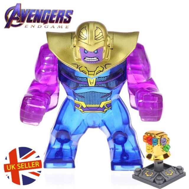 3 Thanos Figures Set Lego Avengers End Game Marvel Infinity Gauntlet UK Seller 1