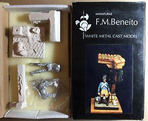 F.m. Beneito Miniaturas Mv32 - Conductor De Tren Artilleria Frances, 1807 - 54mm Sang Nourrissant Et Esprit RéGulateur