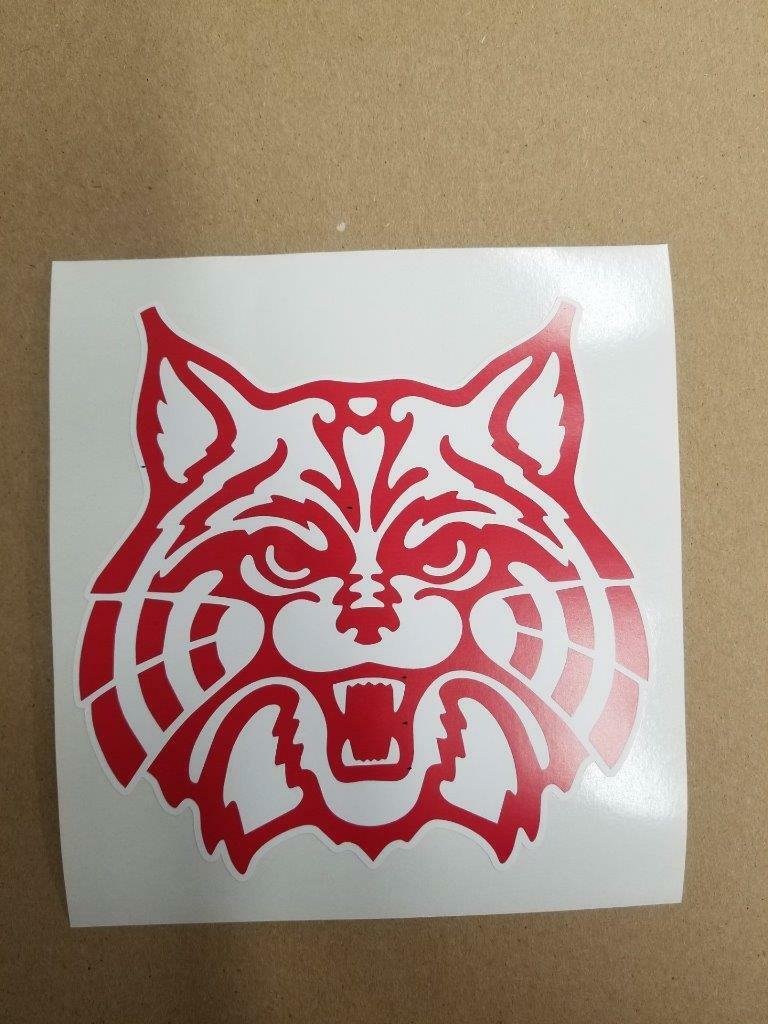 Arizona Wildcats cornhole board or vehicle decal(s) NCAA AW5   all goods are specials
