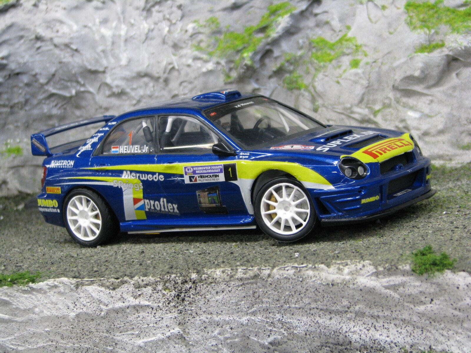 QSP Subaru Impreza S7 WRC '01 1 24 van den Heuvel   Kolman Barneveld Rally 06
