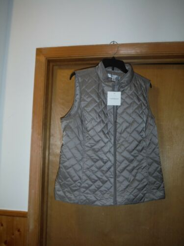 Croft /& Barrow lighter Puffer Vests 2XL,XL,L,M,Many Color Plaid and Solid NWT