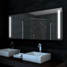 LED Alu Badezimmer Spiegelschrank Wandschrank Badschrank Badspiegel ...
