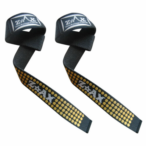 Weight Lifting Wrist Straps Padded Training Gym Exercise Wrist Grip