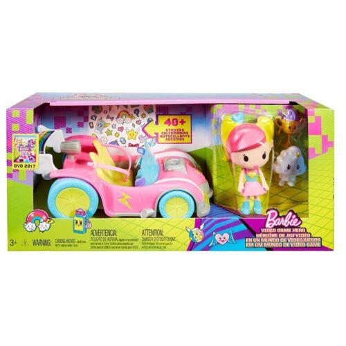 Barbie videogioco eroe del Veicolo e Figura Playset ~ NUOVO ~