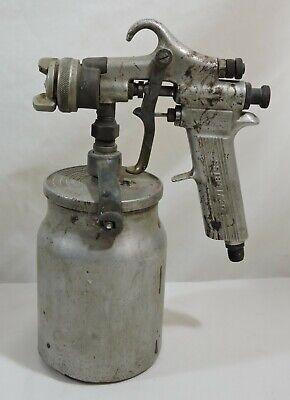 Vintage Devilbiss Type Mbc Paint Spray Gun 30 Tip Kr 501 Cup Untested Ebay