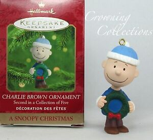 image is loading 2000 hallmark charlie brown a snoopy christmas ornament