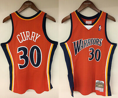 pretty nice a41c1 02b13 Stephen Curry Golden State Warriors Mitchell & Ness NBA ...