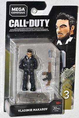 Mega Construx Call Of Duty Makarov Building Set Mattel FVF92
