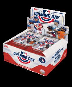 2020-Topps-Opening-Day-Baseball-Singles-U-Pick-Card-Build-Set-lot-MLB-Stars-RC