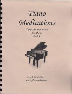 Church Hymn Arrangements for Piano MEDITATIONS Pieces Solo Offertory Worship #4