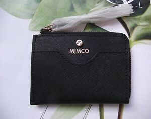 online store c059b 811db Details about New Mimco SUPERMICRA CARD WALLET