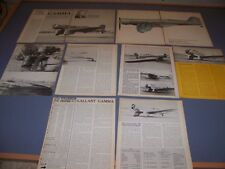 VINTAGE...NORTHROP GAMMA..HISTORY/VARIANTS/PHOTOS..RARE! (635)