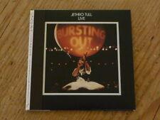 Jethro Tull:Bursting Out Live Japan 2 CD Mini-LP TOCP-67367-68 SS(ian anderson Q
