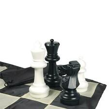 """Giant Chess set 12"""" King+board in/outdoor play BIG GIFT LIFETIME SKILL!"""