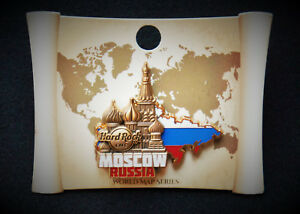Hard Rock Cafe Moscow Russia World Map Series Pin 2017 Ebay