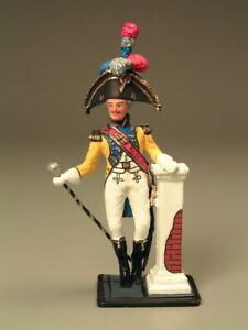 Painted-Tin-Toy-Soldier-Tambour-Major-54mm-1-32