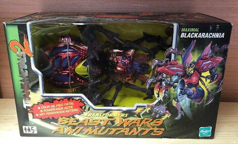 Transformador máxima Negroaracnia   Beast Wars Ani Mutantes   Nuevo   Euro Paquete