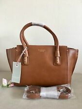 "Radley ""Wimbledon"" Tan Leather Small Multiway Shoulder Bag RRP £179"