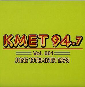 KMET-94-7-2-CD-Set-Vol-001-JUNE-1978-Mini-Lp-cd-Radio-Aircheck-BRAND-NEW