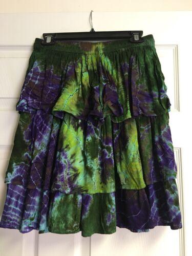 Skirt Knee Length T//d Elastic Waist One Size