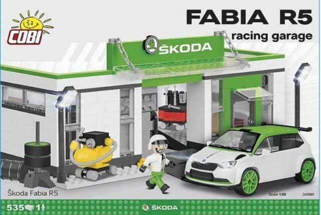 (COB24580) - Cobi - Skoda Fabia R5 Racing Garage