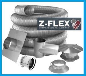 Z Flex Pellet Stove 4 Quot Inner Diameter Stainless Steel