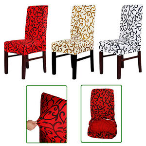 Removable-Stretch-Slipcovers-Short-Dining-Room-Spandex-Chair-Seat-Cover-UK