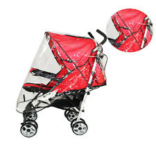 Universal Waterproof Rain Cover Wind Shield Fit Most Strollers Pushchairs O3H5