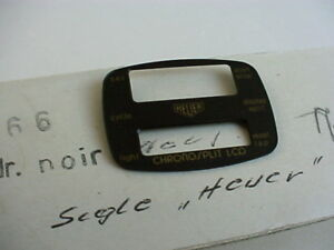 Heuer-Chronosplit-LCD-Uhr-Cal-102-gold-Modell-102-705-Zifferblatt-NOS-perfekt