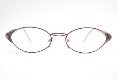 Brillante Vintage Gmc Trend Company Mod. 520 Col. 4 53 [] 18 Viola Multicolor Occhiali Nos- Fabbricazione Abile