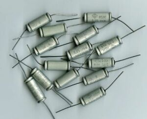 Lot 20 pcs K40P-2B 0.033uF 400V Premium PIO Paper in Oil Capacitors NOS Tested