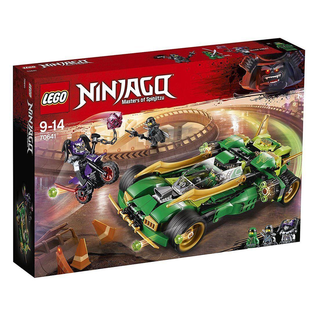 Lego 70641 - Ninjago: Reptador Ninja Nocturno - NUEVO