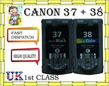 2 REMANUFATURED Canon PG-37 CL-38 pixma ink cartridges for CANON PRINTER