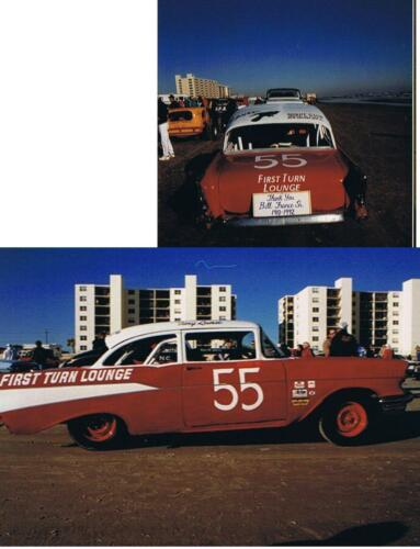 CD/_542 #55 Tiny Lund /'57 Chevy     1:64 Scale Decals  ~OVERSTOCK ~