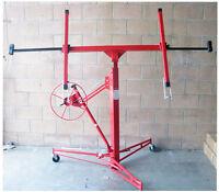 Drywall And Panel Hoist Lift Jack 150lb 4 X 16 Ft