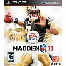 Madden NFL 11 PS3 For PlayStation 3 Football Very Good 3E