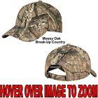 Men's Mossy Oak Break-Up COUNTRY Camo Hat Baseball Cap Hunting Adjustable NEW!