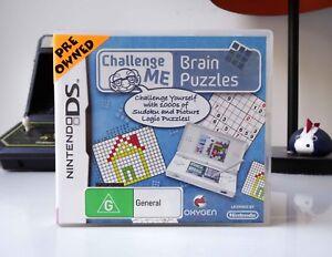 CHALLENGE-ME-BRAIN-PUZZLES-NINTENDO-DS-COMPLETE