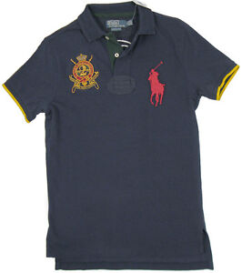 Image is loading NEW-Polo-Ralph-Lauren-Big-Pony-Polo-Shirt-