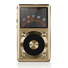 FiiO X3 II 2nd Gen Portable High-Res APE FLAC WMA WAV DSD Audio Player Gold