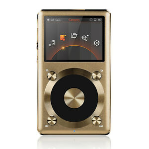 FiiO-X3-II-2nd-Gen-Portable-High-Res-APE-FLAC-WMA-WAV-DSD-Audio-Player-Gold