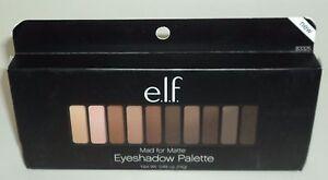 e-l-f-Eyeshadow-Palette-MAD-FOR-MATTE-83325-10-eyeshadow-Shades-Mirror-NIB
