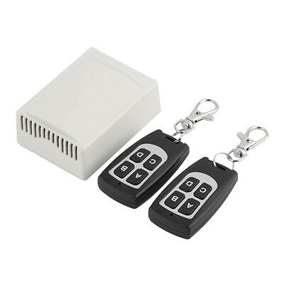 New 12V 4CH 200M Wireless Remote Control Relay Switch Transceiver + Receiver FE