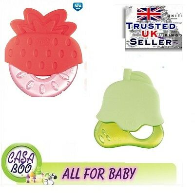 "Loyal Free Bpa Canpol Baby First Water Filled Teether ""fruits"" 0m Other Baby Non-toxic Baby"
