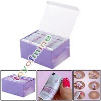 120x Environmental Gel Remover Foil Uv Gel Polish Wraps Acrylic Cleaner Nail