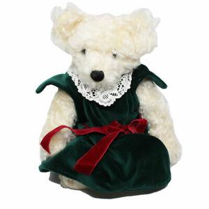 Hermann Pluschtiere Mrs Santa Mohair Bear made for Neiman Marcus